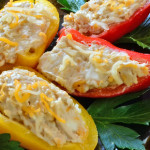 Dr. Smarty - Healthy Recipe - Cream Cheese Stuffed Baby Peppers